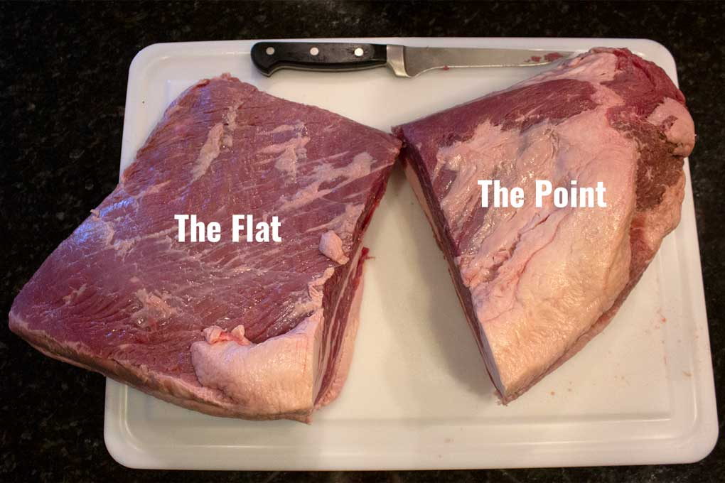 brisket diagram flat and point