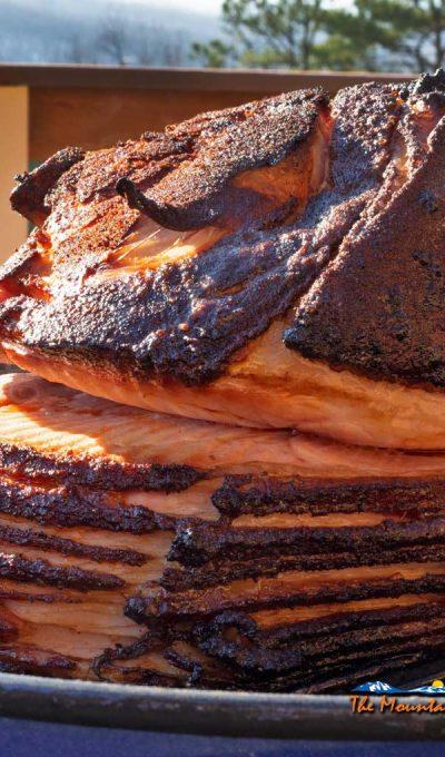 Double-Smoked Ham With Pineapple Bourbon Glaze