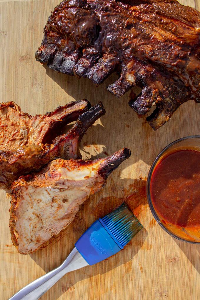 Smoked pork crown roast is an impressive way to present pork while still giving your guests that good to the bone bbq flavor they crave!