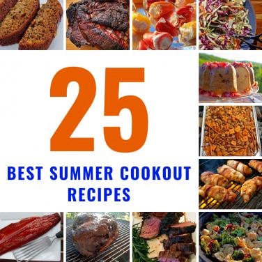25 best summer cookout recipes