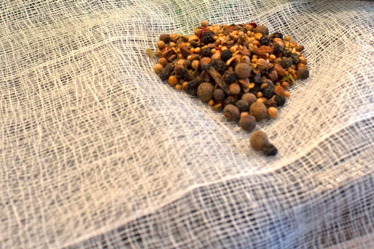 sachet of pickling spice