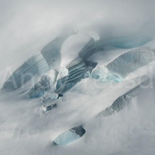 Crevasses on the Jungfrau