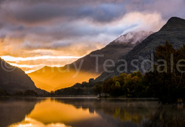 Sunrise over Castell Dolbadarn