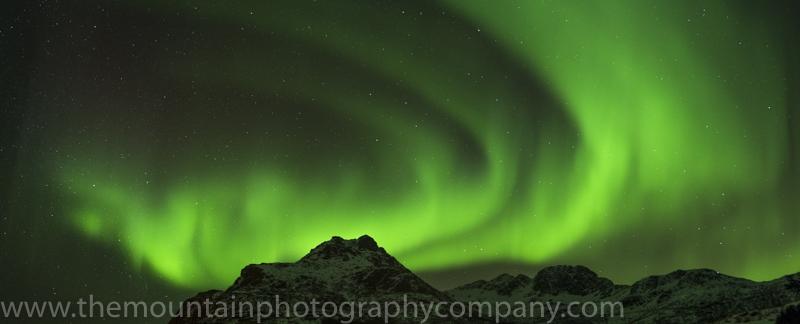 Aurora borealis, Flakstadpollen, Lofoten Islands