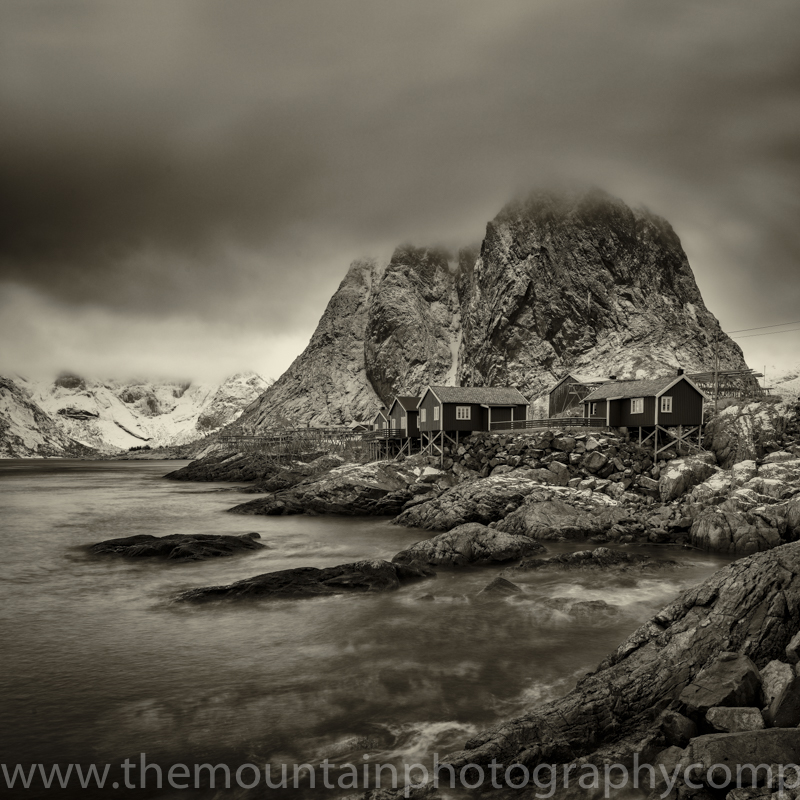 Hamnoy on a cloudy day can be very dramatic