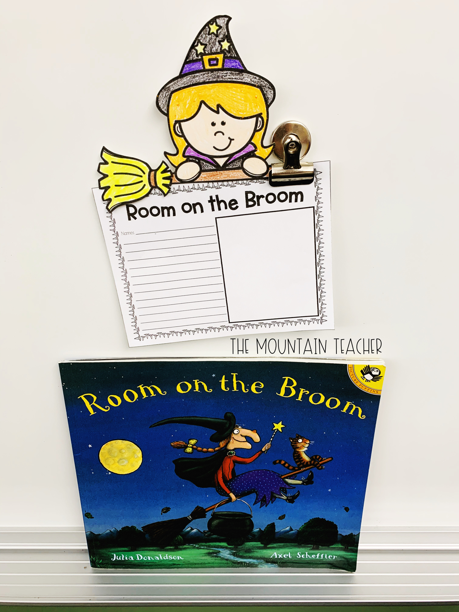 Halloween Read Alouds for Any Classroom: Room on the Broom Activity