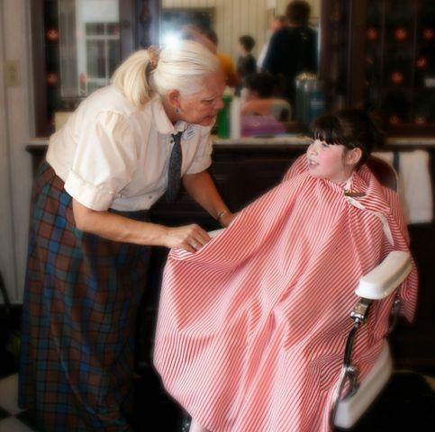 Harmony Barber Shop Magic Kingdom