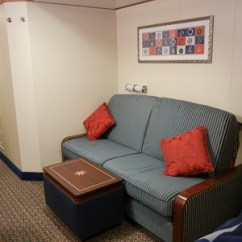 Disney Dream Sofa Bed Mies Inside Staterooms Converts To And Trunk For Storage