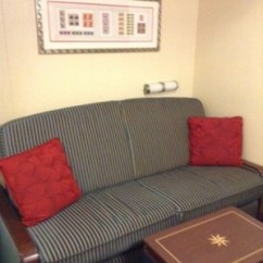 Disney Dream Sofa Bed Cream Full Leather Chaise Sectional Category 10a Deluxe Inside Stateroom On The I Slept Queen And It Was One Of Best Beds Ve Encountered A Sealy Posturepedic Premium Plus Euro Top