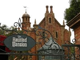 HAUNTED MANSION - SIGN