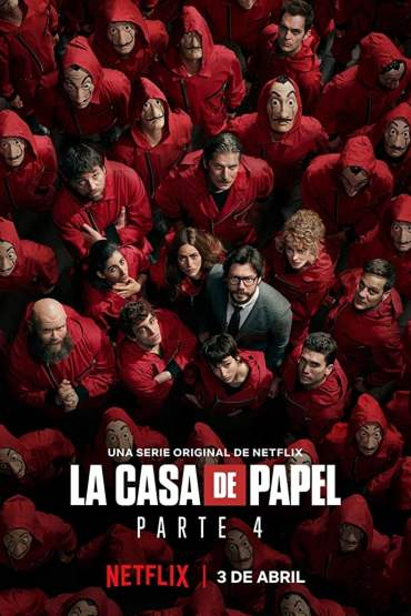 Download Money Heist (Season 1 – 4) Dual Audio {Hindi-English} WeB-HD 480p [120MB] || 720p [320MB] || 1080p [1.5GB]