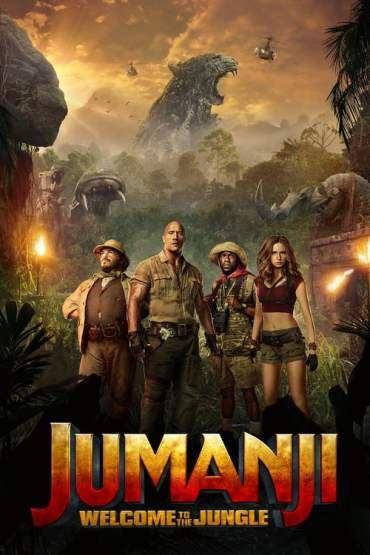 Download Jumanji: Welcome to the Jungle (2017) Dual Audio {Hindi-English} 480p [400MB] || 720p [1.2GB] || 1080p [2.7GB]
