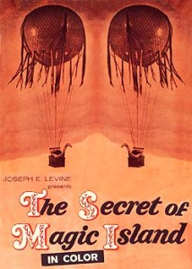 The Secret of Magic Island Movie Poster