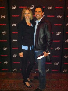 Cinequest Film Festival photo of Justin Bowler & Laura Nickerson