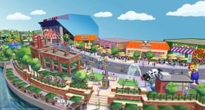 Springfield, Universal Studios