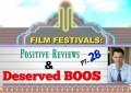 Film Festivals: Positive Reviews & Deserved Boos: Pt. 28 - Crested Butte, NEPA Horror and Norwich Film Festivals