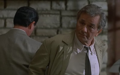 Peter Falk in Columbo Butterfly in Shades of Grey 1994