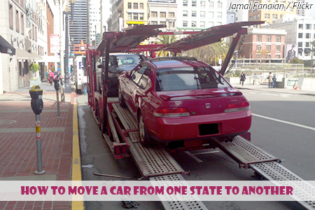 How to ship a car from one state to another  How to Move a Car from One State to Another car shipping