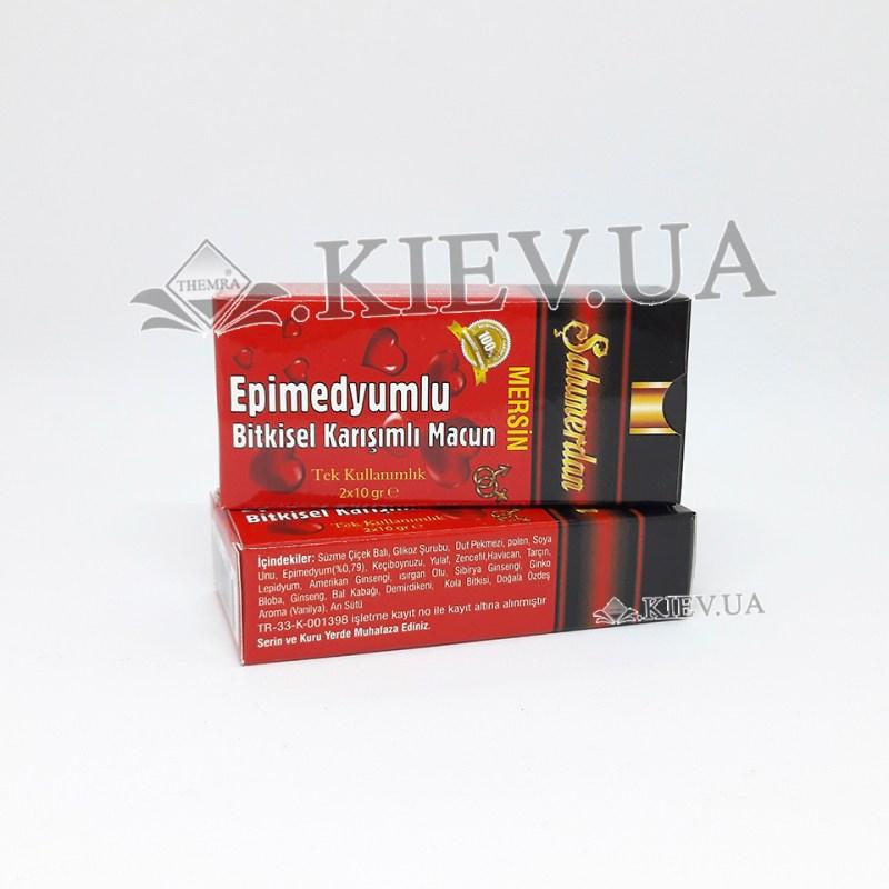 Sahimerdan Bitkisel Kuvvet Macunu (шахимердан эпимедиумная паста в стиках)