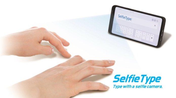 Samsung SelfieType CES 2020