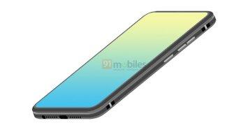 Oppo folding design phone
