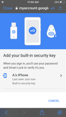 2-factor-authentication iphone