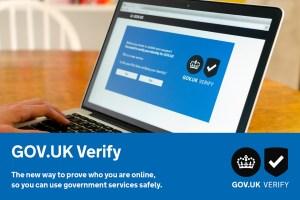 Gov.UK Verify postcard