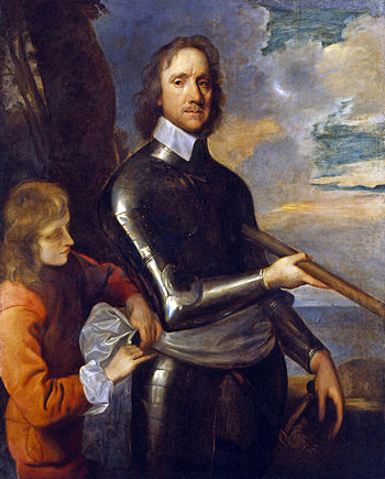 Oliver Cromwell, by Robert Walker (died 1658)....