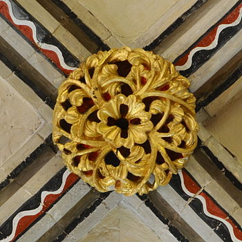 Boss at Rochester Cathedral.