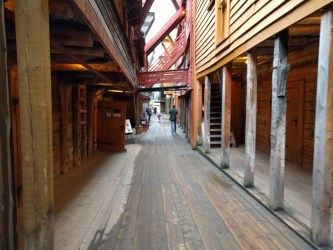 Bryggen in Bergen, Norway. Over a thousand years old and the inspiration for Straven.