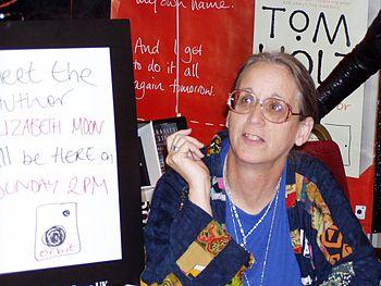 Elizabeth Moon at Worldcon 2005 in Glasgow, Au...