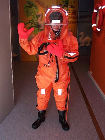 A survival suit (Statoil)