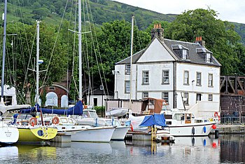 English: Bowling Harbour A regeneration of thi...