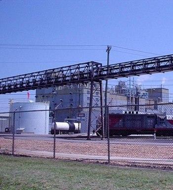 English: BASF Chemical Plant Portsmouth Site i...