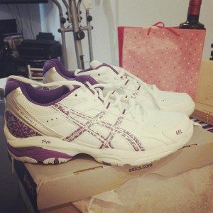 Asics gel academy 5 netball shoes