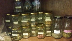 How I store My Herbs