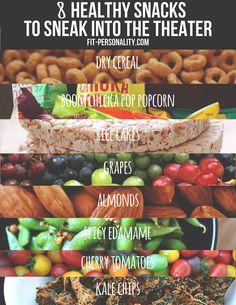 Healthy Cinema Snacks From Healthy Fit Focused