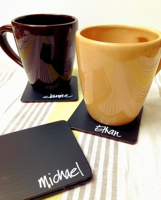 happyhappynester.com - 10 projects for leftover chalkboard paint