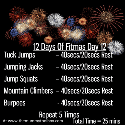 The 12 Days Of Fitmas - Day 12