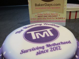 Cake in the post with Baker Days & The Mummy Toolbox