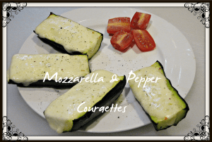 Mozzarella & Pepper Courgettes Recipe, The Mummy Toolbox