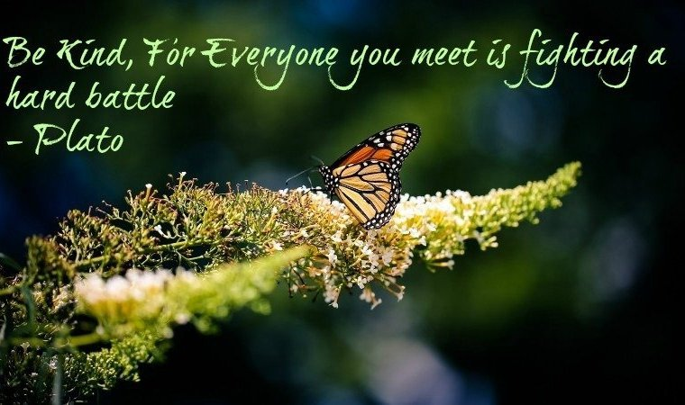 Be Kind - sometimes they aren't excuses