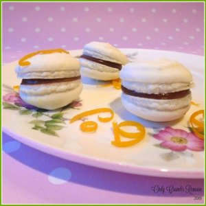 Vegan Chocolate Orange Macarons Fab foodie feature on #YumTum Week 4