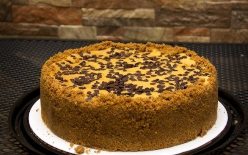 Bailey's Chocolate Cheesecake by Marilyn's Treats