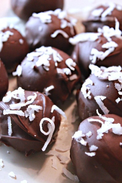 Chocolate Coconut Delights by Dinner With the Rollos