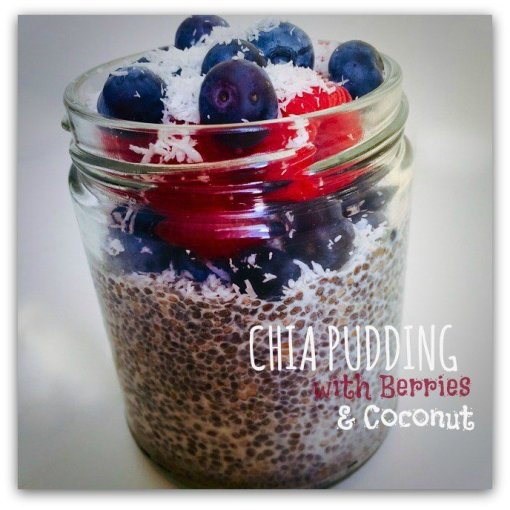 Ilkas ChiaPudding with coconut and berries fab foodie - YumTum 8