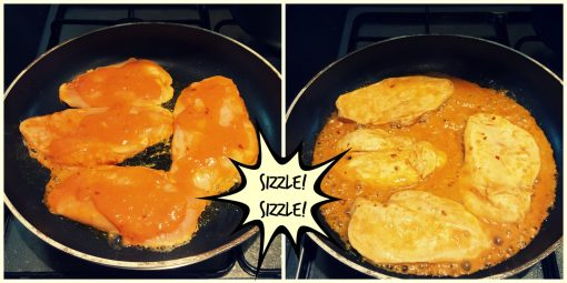 Sizzle Sizzle Nando's Chicken at home