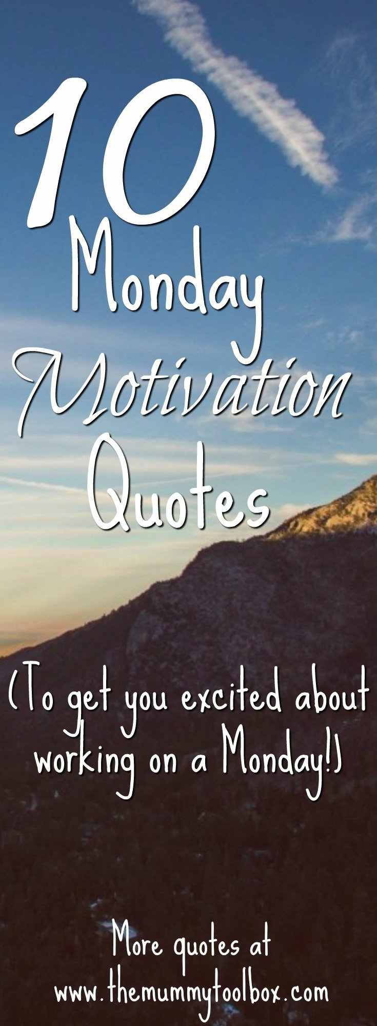 10 quotes to get you excited about work on a monday! plus loads more inspiration, motivation and fitspiration.