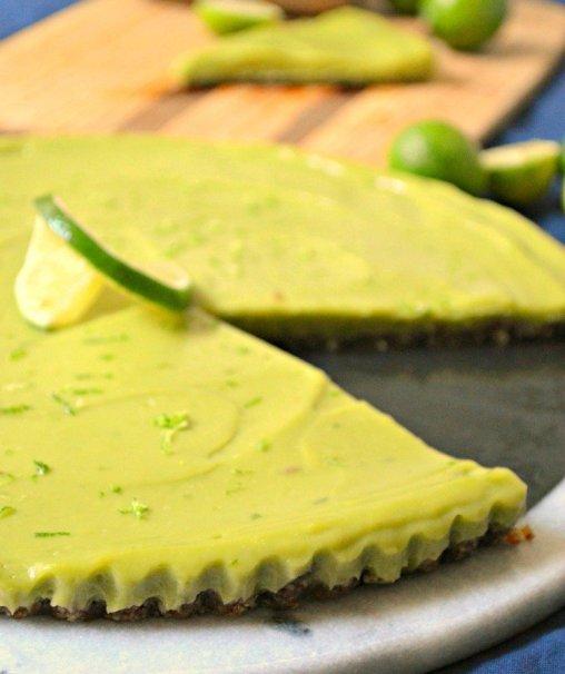 Key Lime Tart - No-bake Desserts roundup