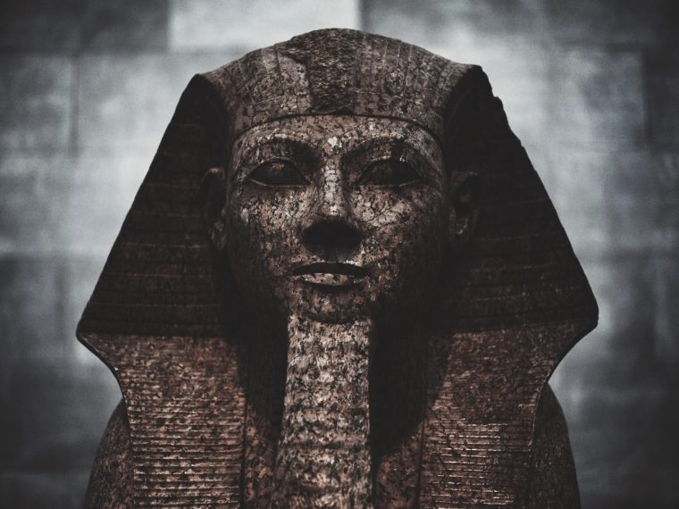 stone egyptian figure